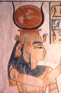 Hathor_goddess_solar_disk_cow_horns
