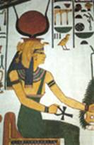 hathor-goddess-solar-disk-horns-saturn