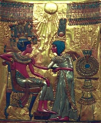 tut's-golden-throne-treasure-egypt