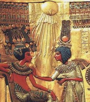 И забытые египетские мотивы вновь